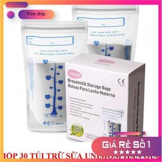 Túi đựng sữa mẹ Unimom Hàn Quốc không có BPA 210ml - H30TDS-1 thumbnail