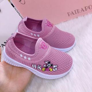 Giày bé gái xinh xắn mẫu mới 2020 màu hồng[ Hàng đủ size] - ms31 thumbnail