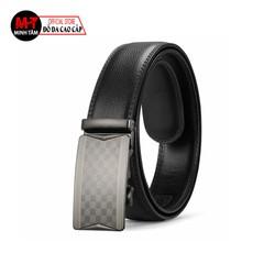 Thắt lưng nam Minh Tâm da cao cấp , kiểu khóa tự động MT10615 , đen hoặc nâu