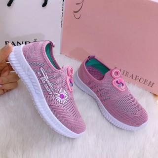 Giày trẻ em hoa cúc hot trend 2020 màu hồng xinh xắn [ Đủ size cho bé] - ms32 thumbnail