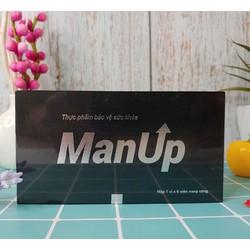 Man Up hộp 6 viên Hỗ trợ tăng cường sức khoẻ nam giới thế hệ mới mạnh hơn rocket 1h