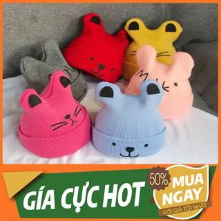 Mũ Len Cho Bé - Mũ nón trẻ em - MLTMCB-1 thumbnail