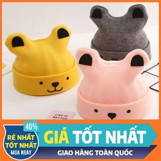 Mũ Len Cho Bé -Sét Mũ Kèm Khăn Len Cho Bé - MLTMCB-1 thumbnail