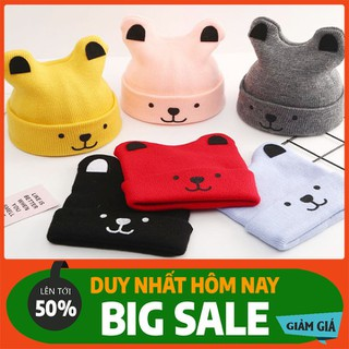 Set Khăn mũ len 2 quả bông cho bé - Mũ, nón trẻ em - MLTMCB-1 thumbnail