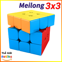 Rubik 3x3 Stickerless MoYu MeiLong