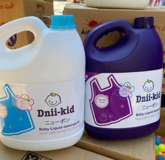 [FREE SHIP CHỌN MÀU] COMBO 2 CAN Nước giặt xả trẻ em siêu lưu hương Dnii-Kid Ánh Dương 3600ml/CAN [hạn đến 2023]