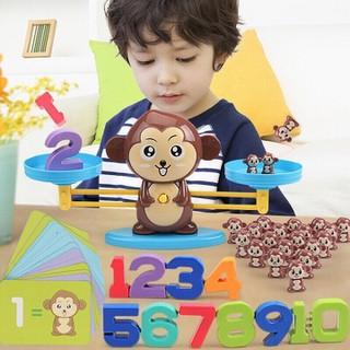 Đồ chơi toán học, đồ chơi phát triển trí tuê, cân toán học cho bé học toán - Đồ chơi toán học thumbnail