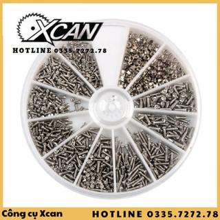 Bộ 600 ốc vít dùng trong sửa đồng hồ Xcan - Xcan201dw thumbnail
