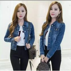 Áo khoác jean nữ 3 màu