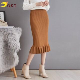 Chân váy len đuôi cá nhiều màu QKT CV61 - cv29 thumbnail