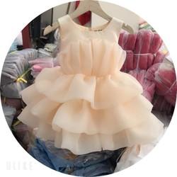 Váy công chúa voan phồng siêu đẹp cho bé gái