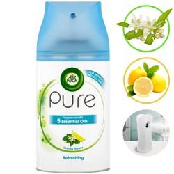 ( HƯƠNG HOA CHANH ) Bình xịt tinh dầu thiên nhiên Air Wick Lemon Flower 250ml. Tinh dầu thơm phòng, kháng khuẩn, thư giãn, hàng chính hãng
