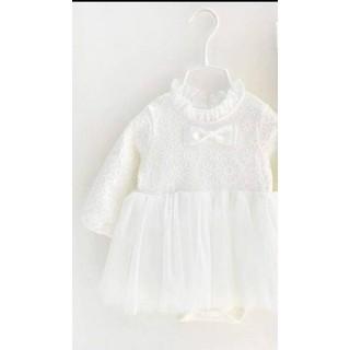 váy công chúa dài tay cổ ren cho bé sơ sinh - váy công chúa dài tay cổ ren cho bé sơ sinh thumbnail