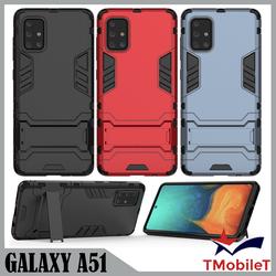 Ốp Lưng Samsung A51 iRon Man chống sốc Bảo Vệ Điện Thoại Có Chân Chống Xem Video