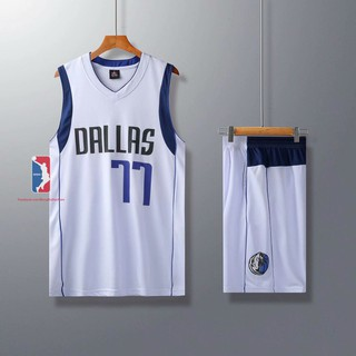 Bộ Quần Áo Bóng Rổ Dallas Mavericks - Luka Doncic - Mẫu 2020 - Bộ Quần Áo Bóng Rổ Dallas Mavericks thumbnail