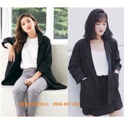 Áo Vest Blazer Nữ Màu Đen Một Lớp Style Korea Trẻ Trung Thanh Lịch  Thời Trang Công Sở Vip   Hàng Y Hình
