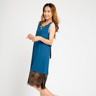 Đầm Suông DRE058 2 trong 1 Chỉ có tại Hity (Xanh Indigo) - DRE058-XANH INDIGO thumbnail