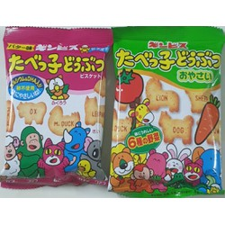 Bánh ăn dặm Ginbis hình thú bổ sung DHA gói 25 g