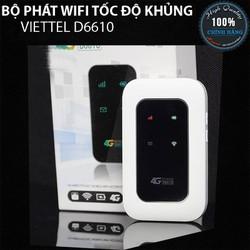Bộ Phát Wifi Công Nghệ Viettel D6610 Hỗ trợ tới 20 thiết bị cùng truy cập