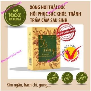 Lá xông toàn thân thảo dược cho Mẹ sau sinh 50g - Wonmom (Việt Nam) - LAXONG thumbnail