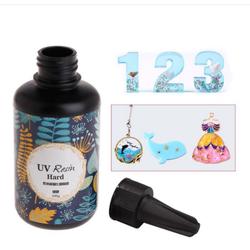 Keo Resin UV Mau Khô Trong Suốt (Cứng)