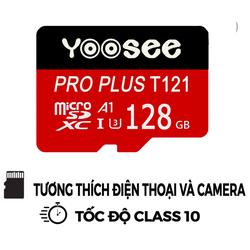 THẺ NHỚ YOOSEE 128G,64G, 32 PRO PLUS U3 T121 tốc độ cao tương thích mọi thiết bị -  Hàng nhập khẩu