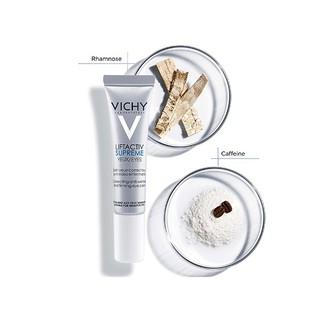 Kem Dưỡng Giúp Giảm Nếp Nhăn & Săn Chắc Da Vùng Mắt Vichy LiftActiv Eyes Supreme Global Anti-Wrinkle & Firming Care 15ml - 3337871323332 2