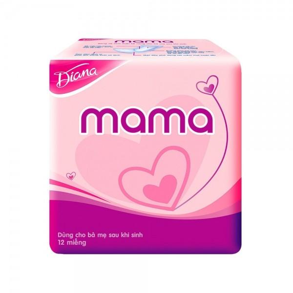 Tã giấy Mama cho mẹ sau sinh Diana 12 miếng