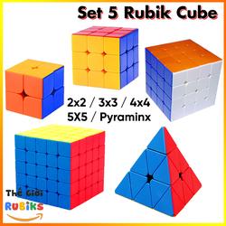 Rubik 2x2 3x3 4x4 5x5 Tam Giác MoYu Stickerless Cao Cấp