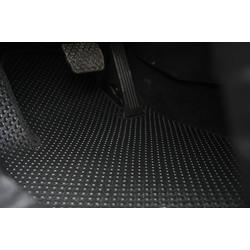 Thảm sàn KATA dành cho xe Mazda 2 AN - Tặng kèm 1 đôi gương cầu lồi và bảng số điện thoại