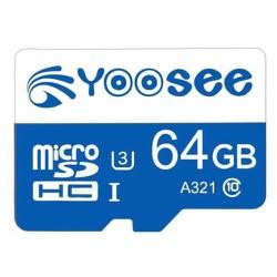 Thẻ nhớ Yoosee 64GB U3 Class-10 chuyên dụng cho camera wifi, điện thoại, máy tính bảng - 64GB xanh
