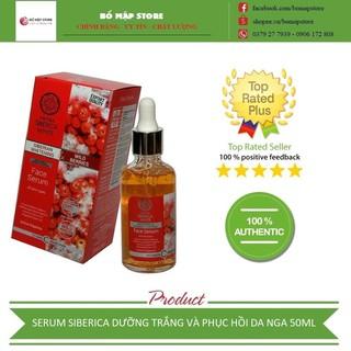 Serum dưỡng trắng SIBERICA [FREE SHIP] - dưỡng trắng và phục hồi da - CHÍNH HÃNG Nga 50 ml - serumSiberia thumbnail