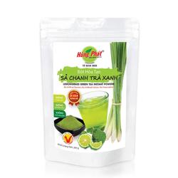 BỘT HÒA TAN SẢ CHANH TRÀ XANH (LEMONGRASS GREEN TEA INSTANT POWDER) - 200g - Thương hiệu Hùng Phát