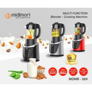 Máy làm sữa hạt xay nấu đa năng Midimori - MDMR-369 thumbnail