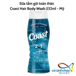 Sữa tắm gội toàn thân Coast Hair Body Wash 532ml - Mỹ [ĐƯỢC KIỂM HÀNG] 25254020 - 25254020 thumbnail