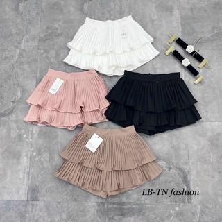 Chân váy ngắn hai tầng xếp ly nhỏ - CVNVL 2035 thumbnail
