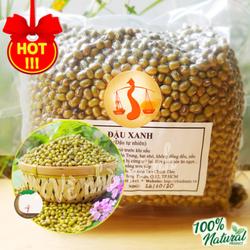 ĐẬU XANH THUẦN CHỦNG HỮU CƠ TỰ NHIÊN 100% 500g ( Hạt đỗ xanh ) dùng nấu chè, làm giá đậu, làm bánh u0026 sữa...