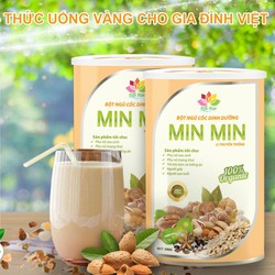 (Mẫu mới, cam kết chính hãng ). Ngũ cốc Min Min hộp 500g gồm 29 loại hạt dinh dưỡng lợi sữa cho bà bầu, mang lại sức khỏe cho mọi người