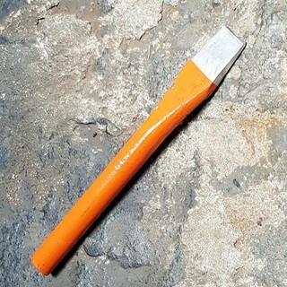 Công Cụ Mũi Đục Sắt Dẹp Thép Nguyên Khối 22x185mm Màu Cam - Công Cụ Mũi Đục Sắt Dẹp Thép Nguyên Khối 22x1 thumbnail