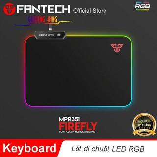 Đế lót di chuột đèn LED RGB 7 chế độ khác nhau Fantech MPR350-MPR351s - Hãng phân phối chính thức - F_MPR350-MPR351s thumbnail