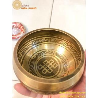 Chuông Quay Tây Tạng 11cm- Chiếc Chuông Biết Hát - CQTT11 thumbnail