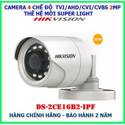 Bộ Camera giám sát HIKVISION 2.0MP Chính hãng - trọn Bộ 3 Camera FULL HD 1080P  TẶNG HDD250GB  Đủ phụ kiện [ĐƯỢC KIỂM HÀNG]
