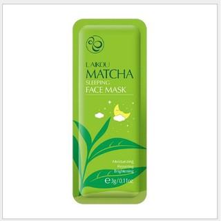 1 miếng Mặt nạ trà xanh Laikou Matcha - Thanh Loan - matna1 thumbnail