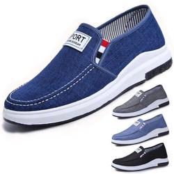 Giày lười - giày mọi thể thao vải jean thời trang Hàn Quốc 2020 mẫu mới đế nhẹ