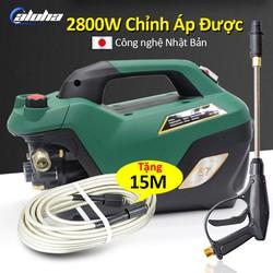 Máy rửa xe gia đình, may rua xe công suất mạnh 2800W có thể chỉnh áp, may rua xe mi ni, máy rửa xe áp lực cao, máy xịt rữa xe dễ dàng sử dụng, ống bơm nước 15m, vòi bơm áp lực cao C0005S7