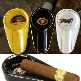 Gạt tàn xì.gà 1 điếu chất liệu sứ sang trọng - Gạt tàn Ci.gar sứ cao cấp thumbnail