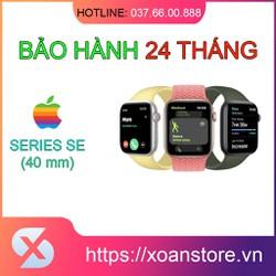 Đồng hồ Apple Watch SE GPS 40mm mới 100% nguyên seal bảo hành 24 tháng tại Xoăn Store