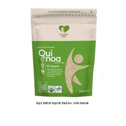 Hạt diêm mạch trắng hữu cơ Organic White Quinoa Nourish You Gói 500g