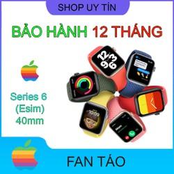 Đồng hồ Apple Watch Series 6 thép Esim 40mm mới 100% nguyên seal bảo hành 24 tháng tại Fan Táo