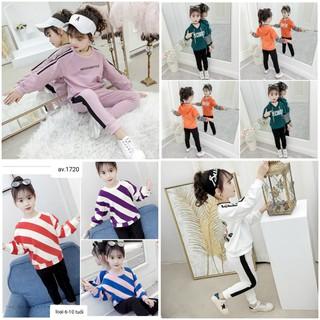 [HOT] COMBO 3 bộ 3 mẫu 3 màu ngẫu nhiên quần áo thu đông trẻ em dành cho bé gái 18-28kg. Thiết kế hợp thời trang, màu sắc bắt mắt - 3 màu ngẫu nhiên thumbnail